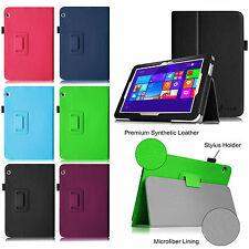 PU Leather Case Cover for Toshiba Encore 2 WT10-A32/A64 10.0-Inch Windows Tablet