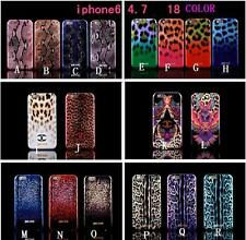IPhone6 4.7'' JUST CAVALLI Rock Sexy Leopard Snake Skull Animal Soft TPU Case