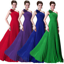 New Long Chiffon Evening Formal Cocktail Party Ball Gown Prom Bridesmaid Dresses