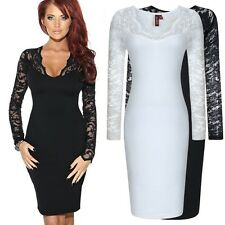 Women's Lace Dresses Cocktail Party Evening Bodycon Dress Work Office Dress L9#
