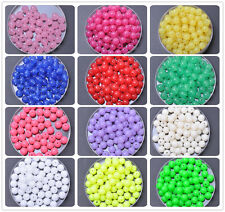 wholesale 100pcs 200pcs Acrylic bead charm loose spacer beads 6mm u pick