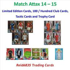 Match Attax 14 - 15 = Limited Editions, Hundred / 100 Club and Tactic Cards