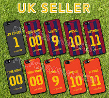BARCELONA 14/15 KIT iPhone 4 5 5S 5C Galaxy S4 S5 PHONE COVER CASE Personalised