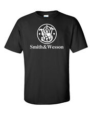 Smith And Wesson T-Shirt Pro Gun Graphics Tee 2nd amendment T-Shirt Free Decal