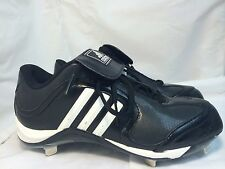 ADIDAS EXCELSIOR 6 LOW 162589 BLACK WHITE BASEBALL METAL CLEATS
