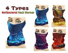 Antibacterial Neck Warmer Neck Tube Outdoor Sports Snood Wind proof Face Mask