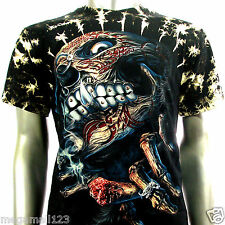 Survivor T-Shirt Biker Rock Tattoo S113 Sz M L XL XXL XXXL Rider Devil Street D1