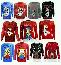 DO YOU WANT TO BUILD A SNOWMAN CHRISTMAS JUMPER OLAF FROZEN JUMPER PLUS  SIZE