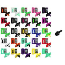 For iPod Touch 4th Gen 4G Hybrid Heavy Duty Rugged Case Cover Mini Stylus