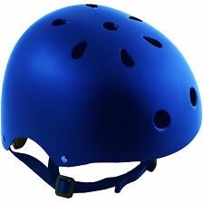 Oxford Bomber Blue Cycle Helmet BMX Extreme Sports Safety Cycling Bicycle Skate