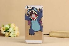★★★ Coque HOUSSE Iphone 4 4S 5c 5s- Lilo & Stitch  SWAG+ Film OFFERT