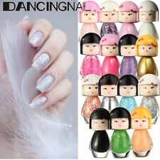 Cute Baby Doll Acrylic Neon Nail Art Tip Polish Bright Glitter Manicure Varnish