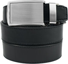 SlideBelts Factory Seconds Silver Buckle Ratchet Belt