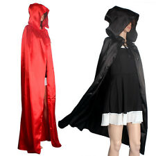 New Hooded Cloak Coat Wicca Robe Medieval Cape Shawl Halloween Party Cuddly