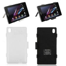Backup Battery Case External Charger Power Bank cover For Sony Xperia Z1 L39h