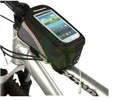 Cycling Bike Bicycle Pannier Front Tube Cell Mobile Phone Bag Case Waterproof