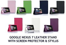 Flip LEATHER Stand Case Cover for Google NEXUS 7 1st Gen 7.0 17.8cm Tablet