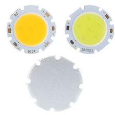 5W Cool/Warm White COB SMD Round High Power LED Bead Lamp Chip Light Bulb New