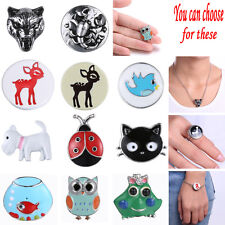 Snaps-It Animal 1pc Genuine Chunk Charm Button Snaps Jewelry Bracelets Necklaces