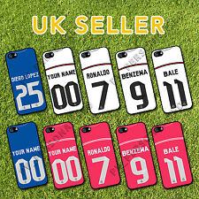 Personalised REAL MADRID 14/15 KIT For iPhone 6 Plus PHONE COVER PRINT CASE