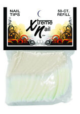 Xtreme Nails 50pcs Refill Pack - CRYSTAL CLEAR