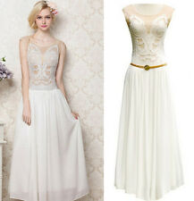 GREAT GATSBY 1920s ELEGANT MAXI PROM LONG CHARLESTON FLAPPER DECO DRESS XS-XL
