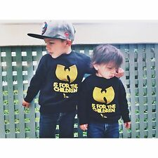 Wutang is for the Children Toddlers Crewneck