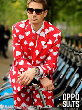 Mr Lover Man Suit Fancy Dress Funky Fashion Designer Mens Costume Stag Party Fun