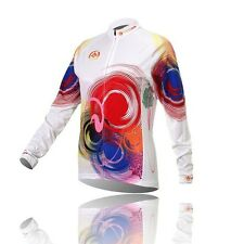 Winter Bike Bicycle Cycling Jersey Top Long Sleeve Plus Velvet Thermal Riding