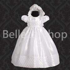 Baby Girl Baptism Christening Gown Occasion Wedding Party Dress Size 0-12m FG027