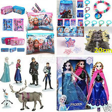 New XMAS Frozen Princess Elsa Anna Doll Toy Stationery Pencil Set Money Bag Gift