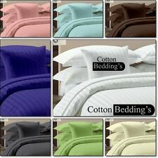 1000TC 100% Egyptian Cotton Hotel Premium Bedroom Quality Bedding in Striped