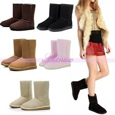 2014 Hot Fashion Winter Warm Womens Cute Ankle Snow Boots Shoes 5 Size&Color