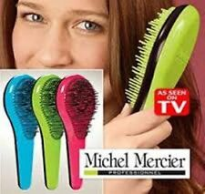MICHEL MERCIER DETANGLING BRUSH AS SEEN ON TV FINE NORMAL THICK HAIR SHIPS FREE