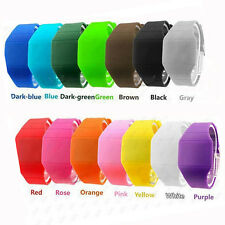 Fashion Cool Unisex Digital LED Touch Screen Sports Bracelet Wrist Watch