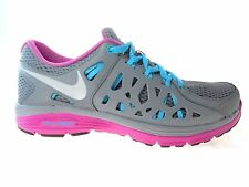 NIKE DUAL FUSION RUN 2 WOMEN'S GREY/BLUE RUNNING SHOES, #599564-002