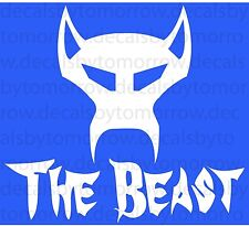 The Beast Evil Awesome Funny Car Vinyl Decal Sticker Die Cut Decor Wall Apple