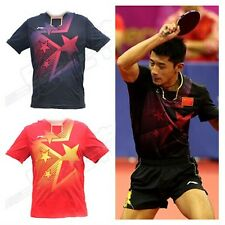 2014 LINING Incheon Asian Games men's table tennis clothes Only T shirt