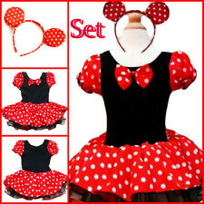 KID MINNIE MOUSE EASTER PRINCESS GIRLS COSTUME PARTY DRESSES 1 2 3 4 5 6 7 8 9T