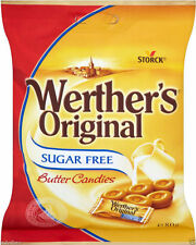 OT 1 to 5 BAGS 80gr OF WERTHERS Original BUTTER CANDY SUGAR FREE SWEET Kosher