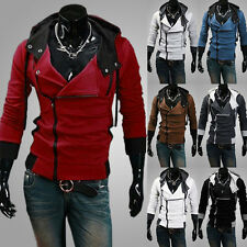 New Men's Fashion Slim Fit Long Sleeve Casual Hooded Hoodies Coat Jacket Outwear