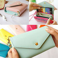 New Zip Wallet Purse Envelope  Bag Phone Case For Iphone 5/4S Galaxy S2/S3 BC2K