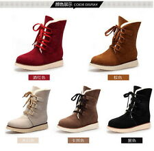 HOT Womens Ankle Boots Winter Warm Thicken Shoes Snow Boots sise 40
