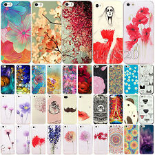 Flowers & Plants Paint Phone Hard Back Skin Case For Apple iPhone 4 4S 5 5S 5C
