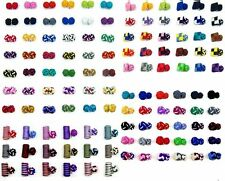 Lot of 5,10,20 Pairs 100 Styles Free Choice Cufflinks Cuff Links Silk Knot Party