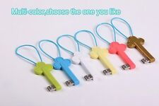 ChargeKey Micro USB Charger Sync Key shaped for iPhone 5 6 keychain