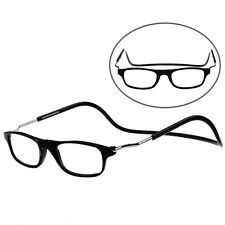Magnetic Power Reading Glasses Folded Hanging +1 +1.5 +2 +2.5 +3 +3.5 +4.0 GBP