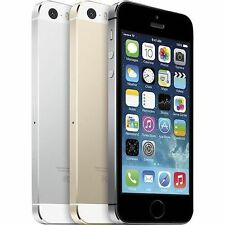 Apple iPhone 5S 32GB Smartphone Factory Unlocked Space Grey-Silver-Gold