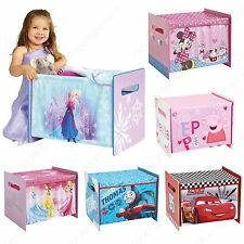 CHARACTER COSYTIME TOY BOXES BEDROOM FURNITURE STORAGE