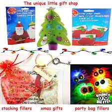Stocking fillers-make your own craft/sweets/chocolates/puzzles/santa s key etc